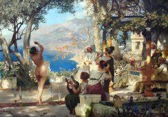 Zaginiony obraz Siemiradzkiego wystawiony na aukcji Sotheby's
