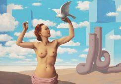 Odkryto ostatni fragment zaginionego dzieła Magritte'a