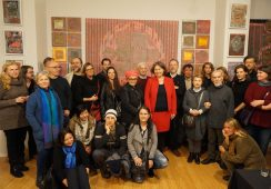 Wernisaż wystawy malarstwa Andrzeja Borowskiego PINK CITY - fotorelacja