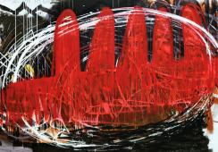 """""""Malując"""" – pierwsza wspólna wystawa malarstwa Urszuli Wilk i Eugeniusza Minciela"""