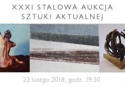 XXXI STALOWA Aukcja Sztuki Aktualnej