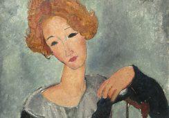 Portret dawnej kochanki odkryty pod znanym dziełem Modiglianiego?