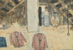 11 dzieł Jamesa Castle'a odkrytych w murach jego rodzinnego domu