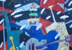 """""""Kolor jest dla mnie najważniejszy. Malarstwo to kolor"""" – rozmowa z artystą Tomaszem Wojtyskiem"""