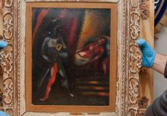 Skradzione płótno Marca Chagalla odnalezione po trzydziestu latach