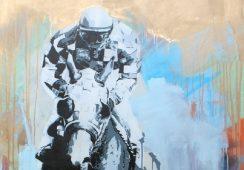 """""""Z moją fascynacją jeździectwem zaczynam wybiegać poza sferę malarską""""- wywiad z Karolem Drzewieckim"""