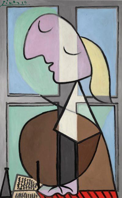 Pablo Picasso, Buste de femme de profil (femme ecrivant), 1932, źródło: Sotheby's