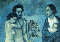 """Fragment z dziennika """"Le Journal"""" znaleziony pod obrazem Picassa"""
