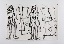 Joan Jonas, Untitled, 2001, Galerie Reinhard Hauff