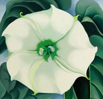 Georgia O'Keeffe, Jimson Weed/White Flower No 1, 1932, Sotheby's