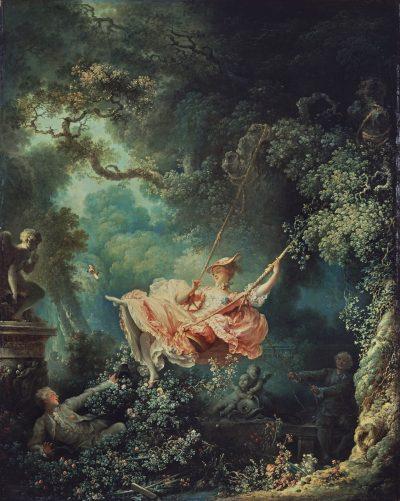 Jean-Honoré Fragonard, Huśtawka, 1767-1768