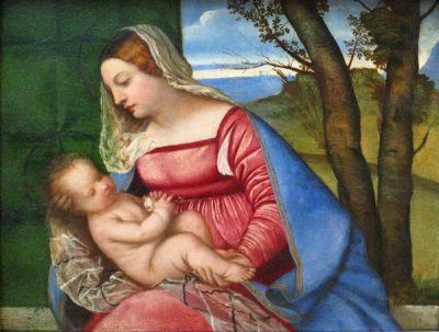 Tycjan, Madonna z Dzieciątkiem, ok 1511