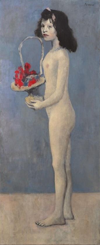 Pablo Picasso, Fillette à la corbeille fleurie, 1905, Christie's