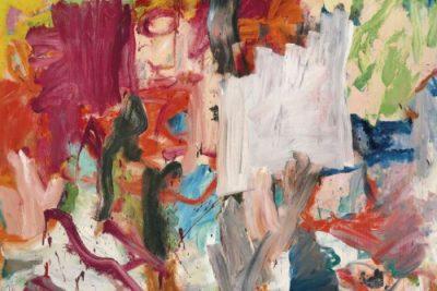 Willem de Kooning, Untitled XXV (fragment), 1997, źródło: Christie's
