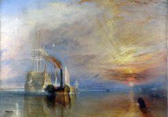Akwarela anonimowego artysty zidentyfikowana jako dzieło Williama Turnera