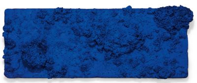Yves Klein, Accord Bleu (Sponge Relief), 1958, Christie's