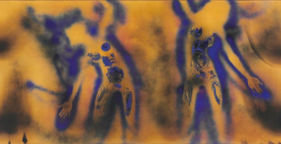 Yves Klein, FC1 (Fire Color 1), 1962, Christie's