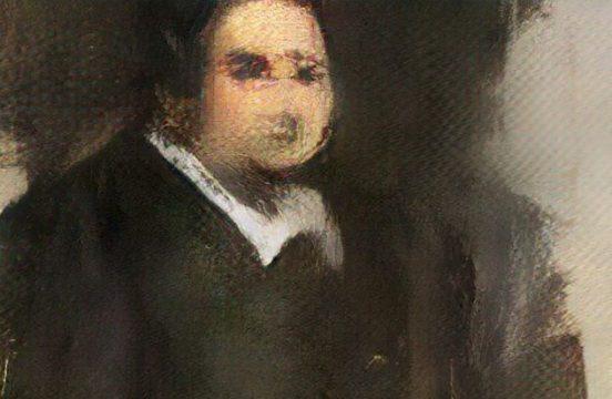 Portret Edmonta Belamy