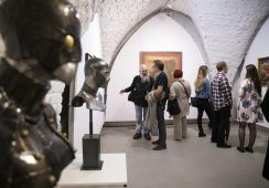 """Fotorelacja z wernisażu wystawy """"MAGICAL DREAMS IV"""" w Galerii Miejskiej we Wrocławiu"""