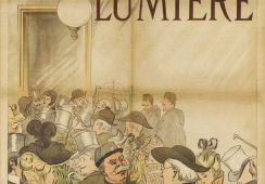 Pierwszy plakat filmu braci Lumiere - Rynek i Sztuka