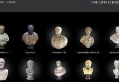 Ogromna kolekcja rzeźb ze zbiorów Galerii Ufizzi dostępna online