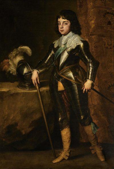 Antoon van Dyck, Karol II Stuart, 1641 - źr. Sotheby's