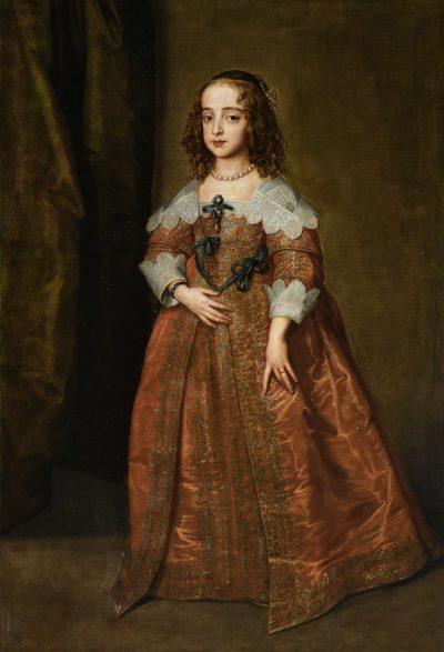 Antoon van Dyck, Maria Stuart, 1641 - źr. Sotheby's