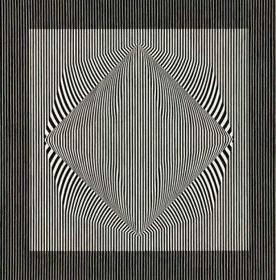 Julian Stańczak, Constant Return #1, 1965 - Sothesby's