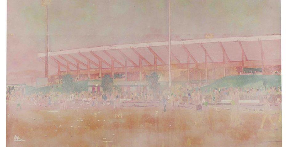 Peter Doig, Buffalo Station I, 1997 - źr. Sotheby's