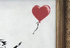 """""""Zostaliśmy wyBanksowani"""". Teorie spiskowe wokół aukcji Dziewczynki z balonikiem"""