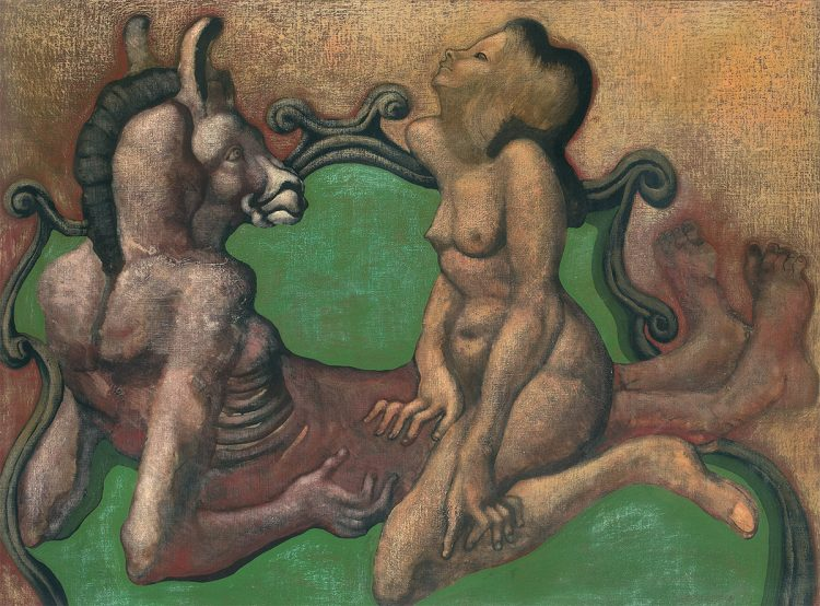 Jan Lebenstein, nassouvissement (Nienasycenie), 1970 - rynekisztuka.pl, źr. materiały organizatora