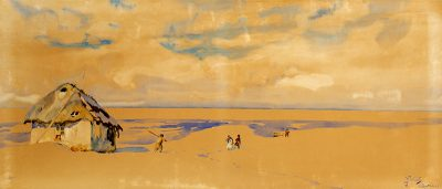 Julian Fałat, Bystra, 1917 - rynekisztuka.pl, źr. materiały organizatora