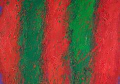 Leon Tarasewicz, Bez tytułu, 1998, olej, płótno, 65 x 65 cm - materiały prasowe Piękna Gallery - rynekiszuka.pl