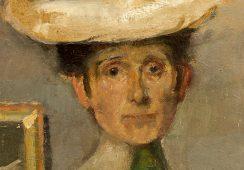 Olga Boznańska, Autoportret, ok. 1905 - rynekisztuka.pl, źr. materiały organizatora