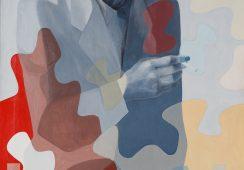 Stefan Krygier, Portret W. Strzemińskiego, 1982, olej, płótno, 120x70 cm - materiały prasowe Piękna Gallery - rynekiszuka.pl