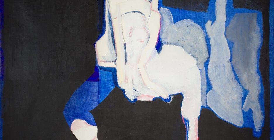 Teresa Pągowska, Czternasty, 1967, olej, płótno, 130x145cm - materiały prasowe Piękna Gallery - rynekiszuka.pl
