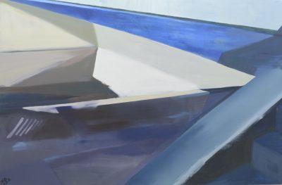 """Katarzyna Cur, Bez tytułu 1 z cyklu """"Architektura przestrzeni"""", 2017 - 2018; FaceToFaceArt - rynekisztuka.pl"""