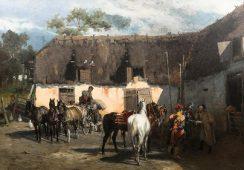 Obraz Alfreda Wierusza Kowalskiego pobił rekord w Sopockim Domu Aukcyjnym