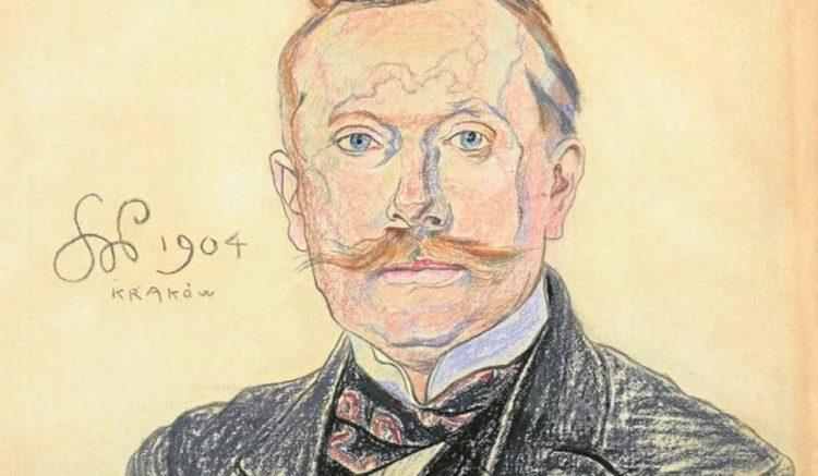 Stanisław Wyspiański, Portret doktora Jana Raczyńskiego, 1904; źr. dziennikpolski - rynekisztuka.pl