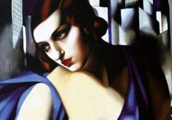 Rekord dzieła La Musicienne Tamary Łempickiej w Christie's