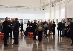Fotorelacja z wernisażu prac Franciszka Bunscha – Przestrzeń dla sztuki