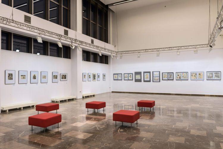 Wystawa prac Franciszka Bunscha; źr. Nowohuckie Centrum Kultury - rynekisztuka.pl