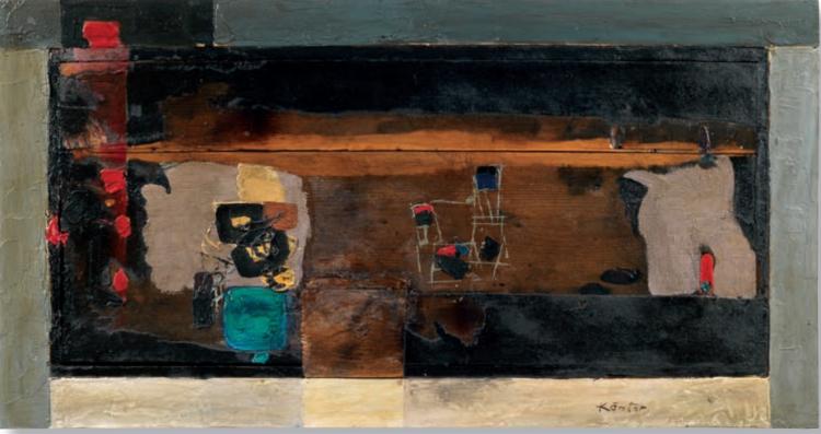 Tedeusz Kantor, bez tytułu, 1960; źr. Dorotheum - rynekisztuka.pl