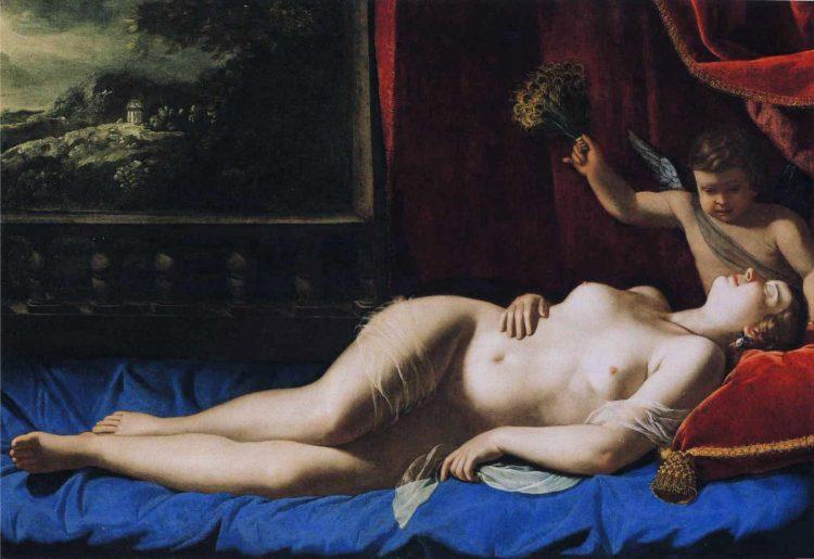 Artemisia Gentileschi, Śpiąca Wenus, 1625-1630; Virginia Museum of Fine Arts - rynekisztuka.pl