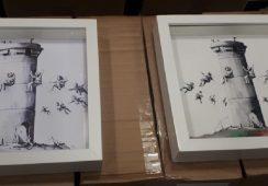 Próba kradzieży dzieła Banksy-ego na wystawie w Mediolanie