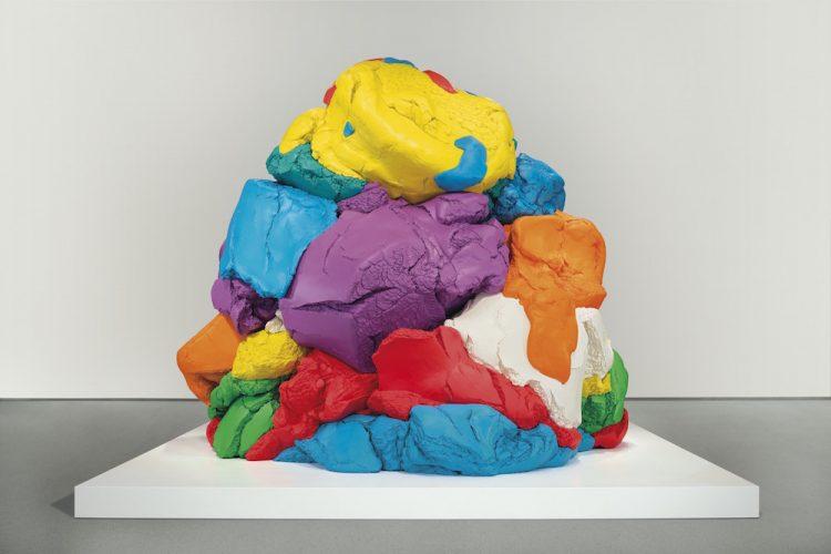 Jeff Koons, Play-Doh, 1994-2012; źr. Christie's / rynekisztuka.pl