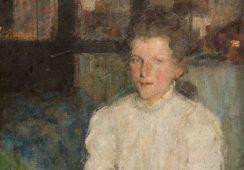 Portret Włoszki Olgi Boznańskiej sprzedany za ponad milion złotych