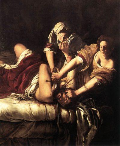 Artemisia Gentileschi, Judyta zabijająca Holofernesa, 1614-620; Galeria Uffizi - rynekisztuka.pl