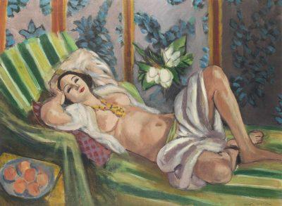 Henri Matisse, Odalisque couchée aux magnolias, 1923; źr. Christie's / rynekisztuka.pl