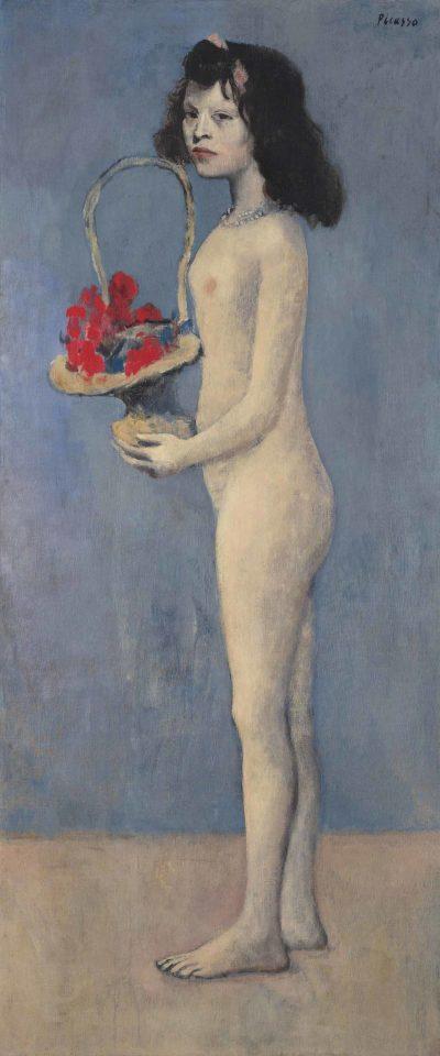 Pablo Picasso, Fillette à la corbeille fleurie, 1905; źr. Christie's / rynekisztuka.pl